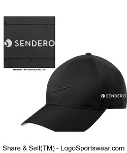 Sendero Hat (Embroidery on Side) Design Zoom